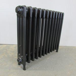 Reclaimed Victorian 3 Column Cast Iron Radiator; RR0244