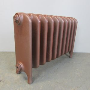 Reclaimed Wide School Cast Iron Radiator; RR0246
