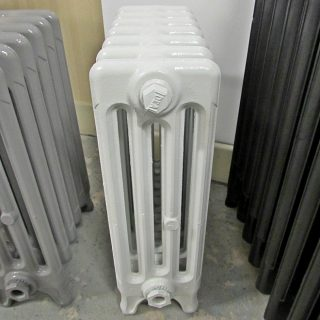 Ideal white radiator