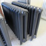 Pair of black Princess radiators