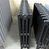 Reclaimed 4 column black radiator