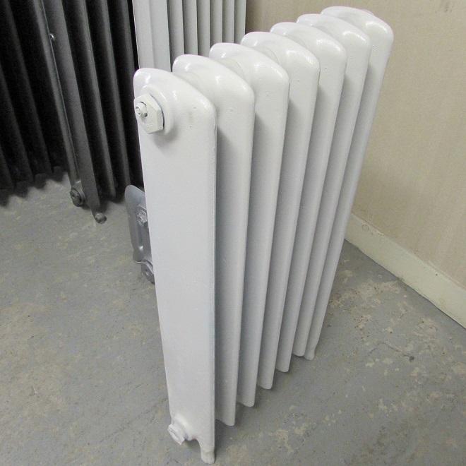 School 7 section white raditor