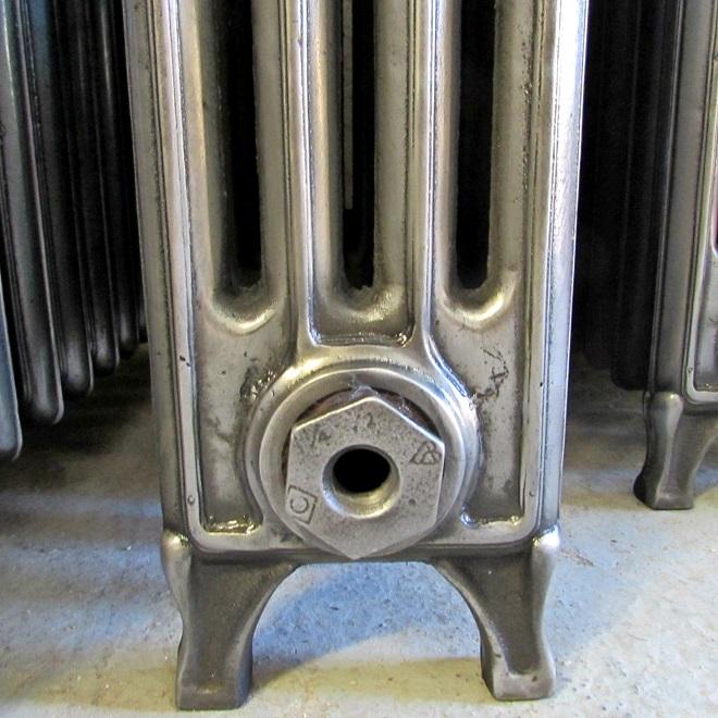 Victorian radiator feet