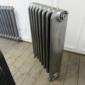 Reclaimed Wide School Cast Iron Radiator; RR0288