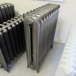Reclaimed Earred Princess Cast Iron Radiator; RR0283