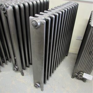 Reclaimed square section Cast Iron Radiator; RR0294