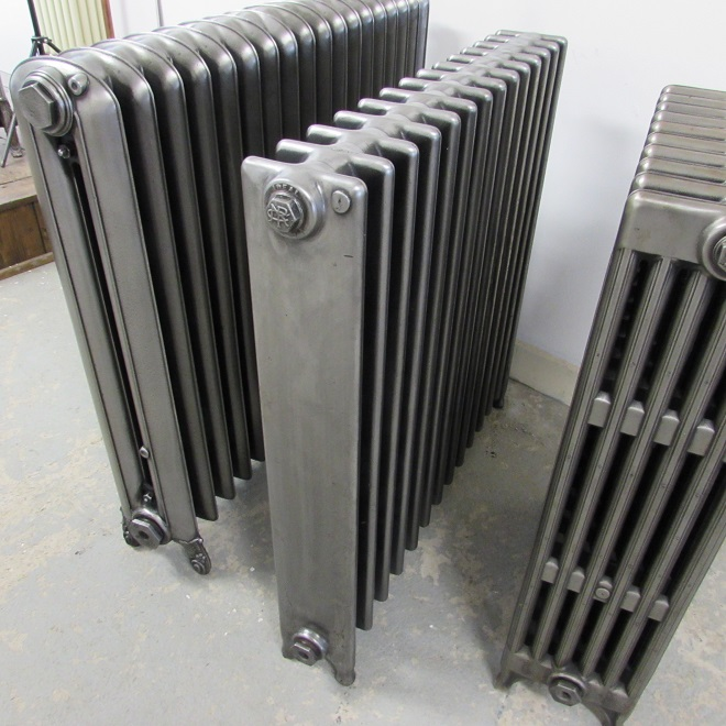 Fully restored square section radiator
