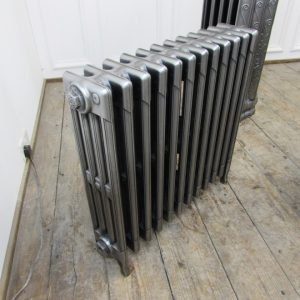 Reclaimed Victorian Cast Iron Radiator; RR0309