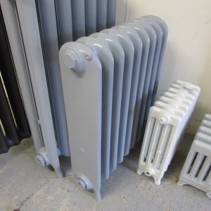 Reclaimed Wide School Cast Iron Radiator; RR0310