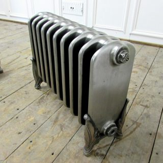 Ideal school radiator with decorative feet