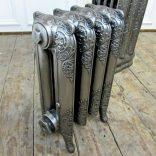 Rococo full polish cast iron radiator