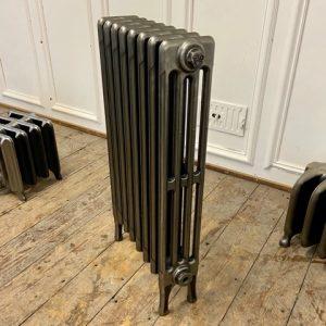 Reclaimed Victorian 4 Column Cast Iron Radiator; RR0324