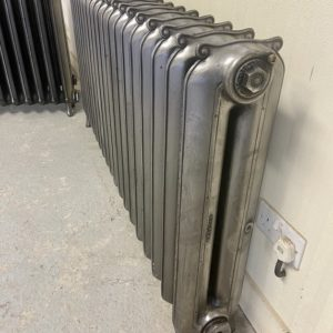 Reclaimed Curly Eared Duchess Cast Iron Radiator; RR0333