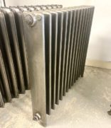 Full polish square radiator