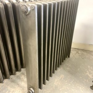 Reclaimed Square section Cast Iron Radiator; RR0336
