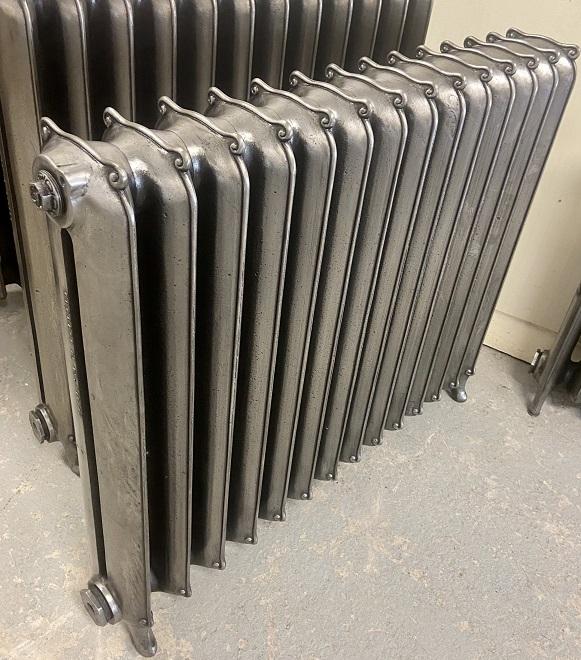 Hand burnished radiator at RIbble Radiators