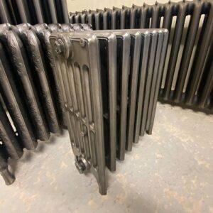 Reclaimed Victorian 6 Column Cast Iron Radiator; RR0341