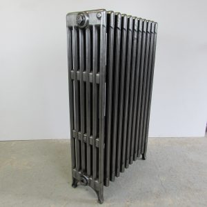 Reclaimed Victorian 6 Column Cast Iron Radiator; RR0232
