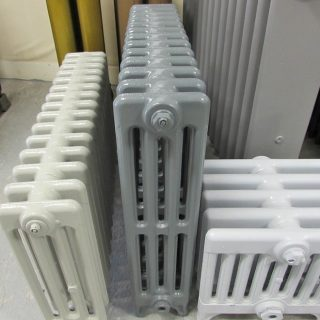 End section Victorian radiator