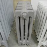 Reclaimed grey Victorian radiator