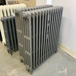 Reclaimed Victorian 4 Column Cast Iron Radiator; RR0270