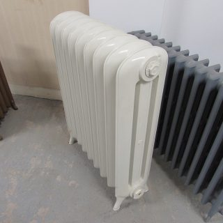 Cream 3 Column Princess Radiator