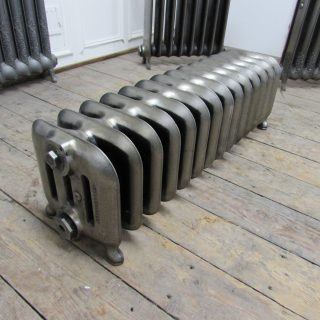 Full Polished Chubby Princess Cast Iron Radiator