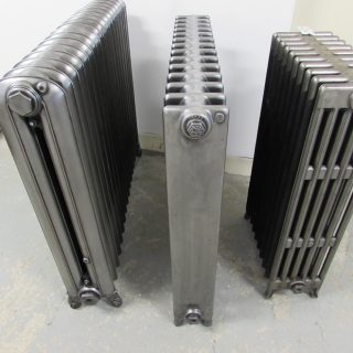 Square polished radiator