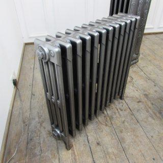 Full polish four column radiator