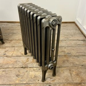 Reclaimed Victorian 4 Column Cast Iron Radiator; RR0325
