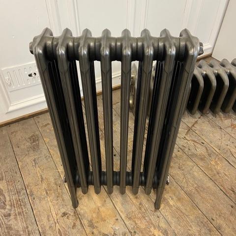 Victorian radiator in full polish finish