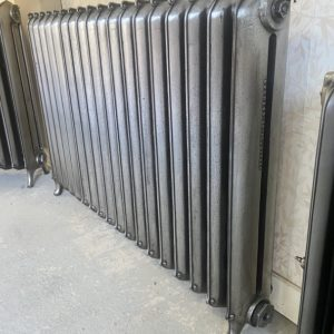 Reclaimed Curly Eared Duchess Cast Iron Radiator; RR0330