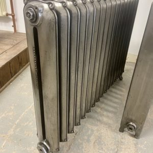 Reclaimed Curly Eared Duchess Cast Iron Radiator; RR0337