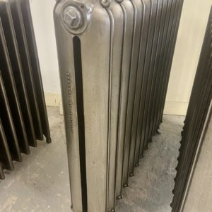 Reclaimed Curly Eared Duchess Cast Iron Radiator; RR0335
