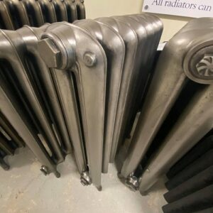 Reclaimed Princess Cast Iron Radiator; RR0339