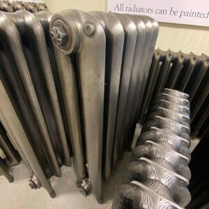 Reclaimed Princess Cast Iron Radiator; RR0340
